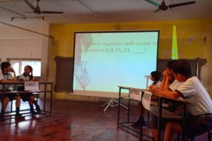 Inter house quiz competition (std I to VIII)