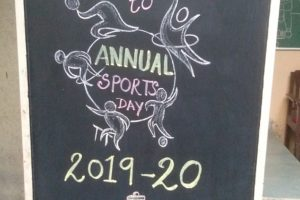 Annual Sport's Day 2019-20